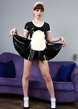 Natalie Mars in maid trap