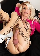 Joanna Jet - Patterned Bodystocking